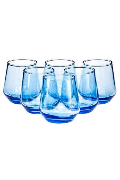 Paşabahçe Mavi Allegra 6'lı Kahve Yanı Bardağı