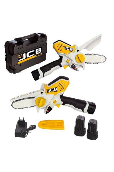 ProJCB Plus Pro Jcb Plus Magic Saw X-torq 1800 Li-on Akülü Dal Kesme Budama Testere Bıçkı Makinası Çift Akülü