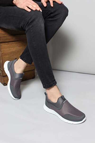 FAST STEP Füme Beyaz Erkek Sneaker Ayakkabı 930maf555