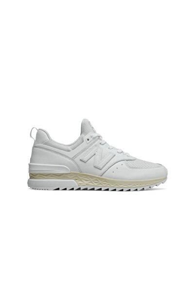 New Balance Kadın Beyaz Sneaker 574s Ms574lsw