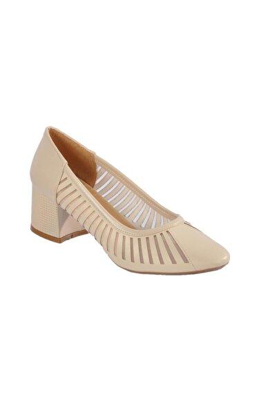 Maje 2127 Ten Kadın Topuklu Ayakkabı