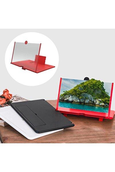 DecoTown Buffer Taşınabilir Göz Yormayan 3d Cep Telefonu Mobil Tablet Hd Ekran Video Büyütücü Büyüteci