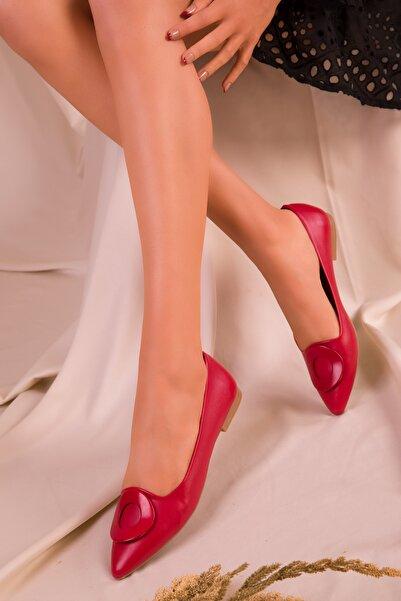 SOHO Kırmızı Kadın Babet 15805