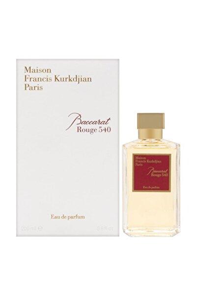 Maison Francis Kurkdjian Kurkdjıan Baccarat Rouge 540 Edp 200 ml Erkek Parfümü  3700559605417
