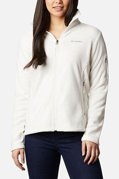 Columbia Kadın Beyaz Fast Trek Ii Jacket Ceket