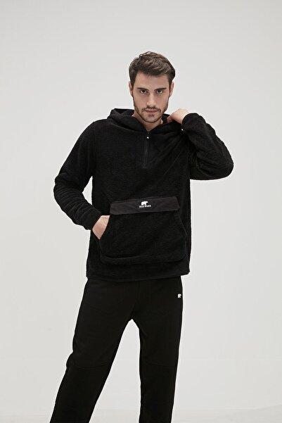 Bad Bear Erkek Siyah Inuıt Plush Sweatshirt