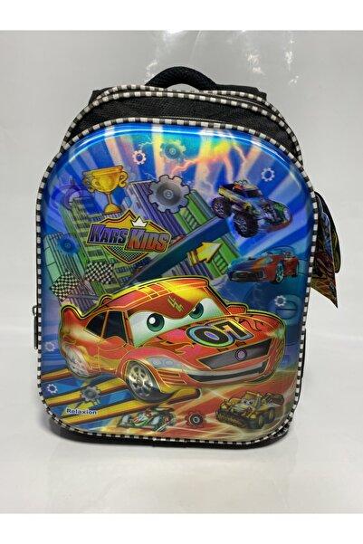 çantacımm Arabalı Ilkokul Ortopedik Çanta
