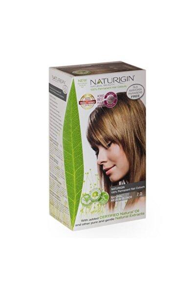 Naturigin -organik Içerikli Saç Boyası-7.0 Doğal Orta Sarı