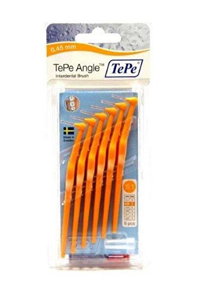 TePe Angle 0.45 Mm Turuncu Ara Yüz Fırçası