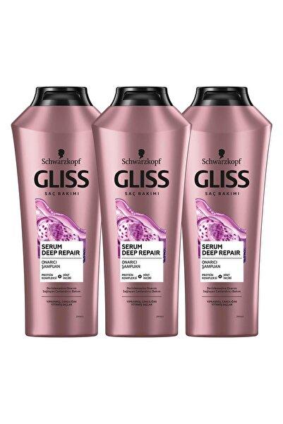 Gliss Serum Deep Repair Onarıcı Şampuan 360 ML 3'lü