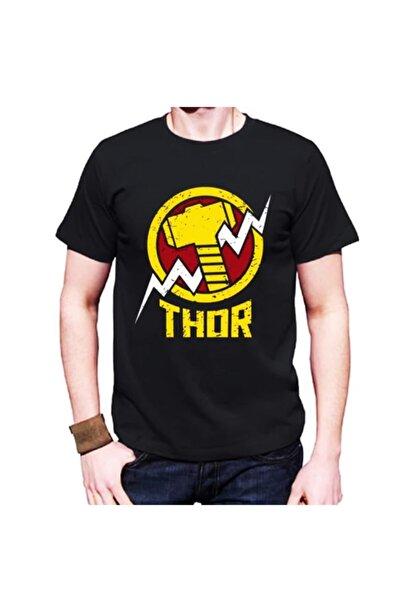 MARVEL Thor Çekiç Figürlü Tişört