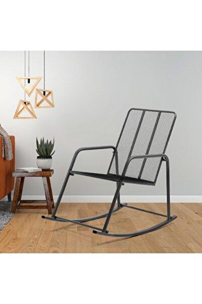 Retodesign Metal Sallanan Sandalye/ Bebek Emzirme Koltuğu/baba Koltuğu