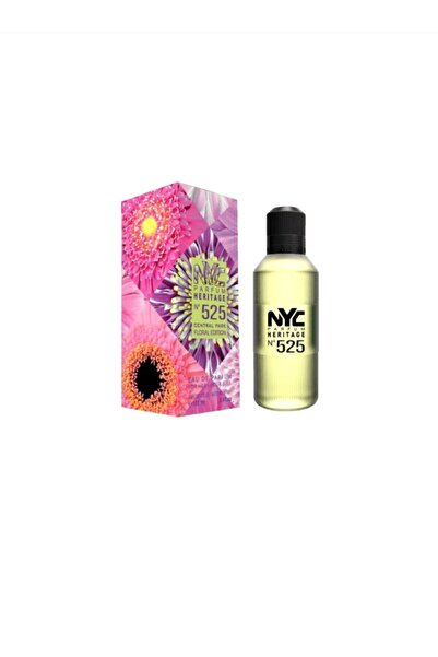 NYC Heritage No:525 Central Park Floral Edition Edp 100 ml Kadın Parfüm  87599000525