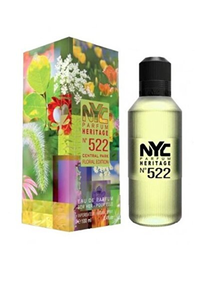 NYC Heritage No:522 Central Park Floral Edition  Edp 100 ml Kadın Parfüm 87599000522