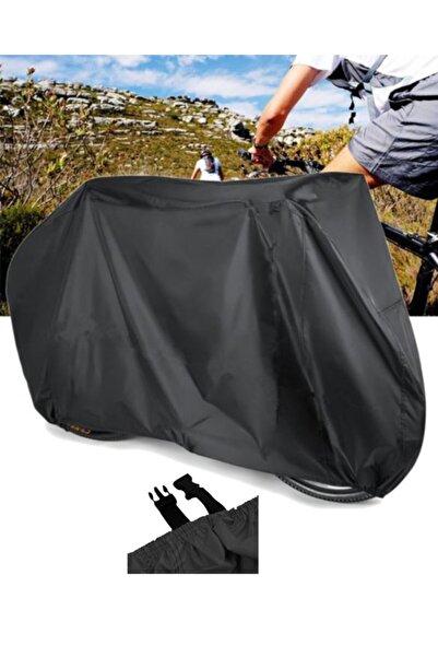 CoverPlus Bisiklet Brandası Su Geçirmez Bisiklet Koruma Bisiklet Örtüsü - Siyah