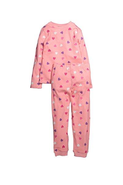 Zeyland Kalp Baskılı Pijama Takımı (5-14yaş)