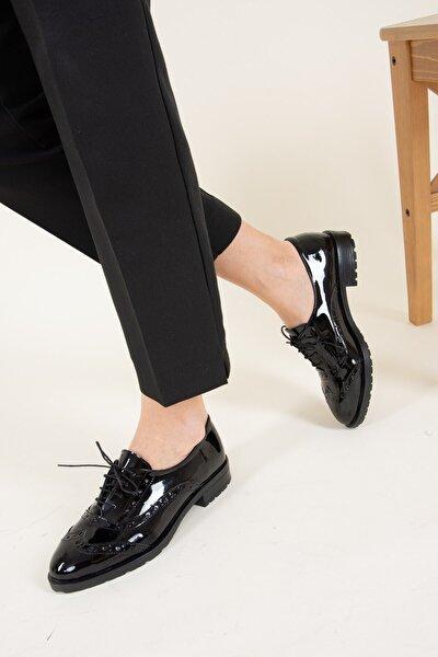Fox Shoes Siyah Kadın Ayakkabı F288190108