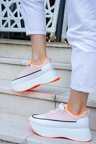 Fox Shoes Pudra Kadın Sneakers H267053505