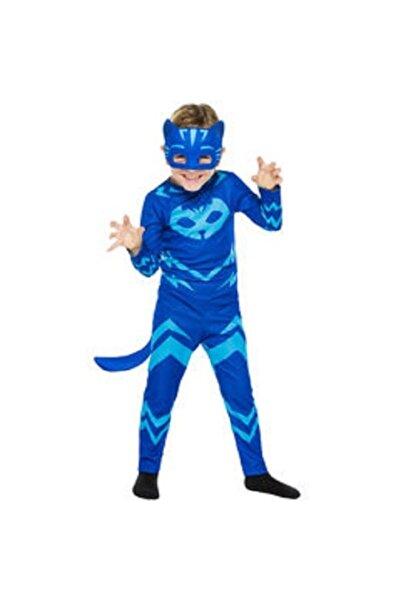 Liyavera Pija Maskeliler Kedi Çocuk Kostüm Kıyafeti