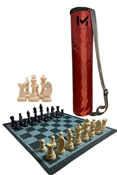 MATEO Satranç Takımı Bez Sırt Çantalı