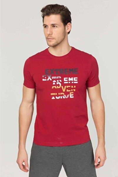 bilcee Gri Pamuklu Erkek T-Shirt FS-1674