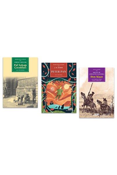 Yapı Kredi Yayınları Pal Sokağı Çocukları - Don Kişot - Peter Pan Set 3 Kitap Roman -