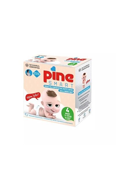 Pine Smart Akıllı Bebek Bezi 4 Maxi (7-18 Kg) 20 Adet