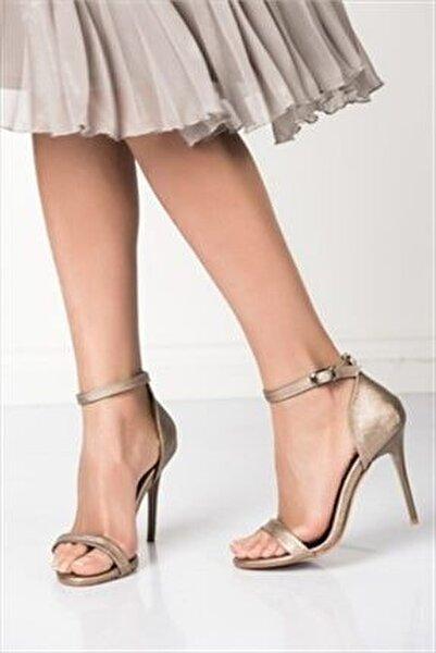 Platin Kadın Topuklu Ayakkabı B922112609