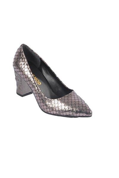 Maje 2740 Platin Kadın Topuklu Ayakkabı
