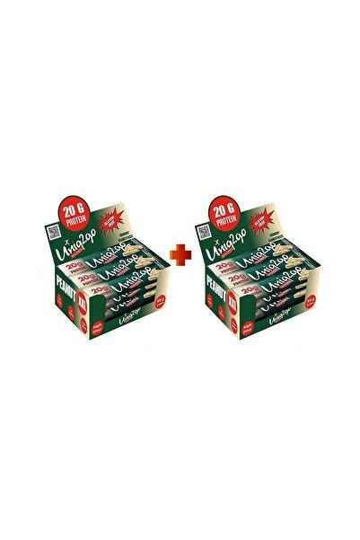 Uniq2Go Peanut Xxl - Fıstık Ezmeli Xxl Proteinli Bar 12li Kutu X2 Kutu (24 Adet)