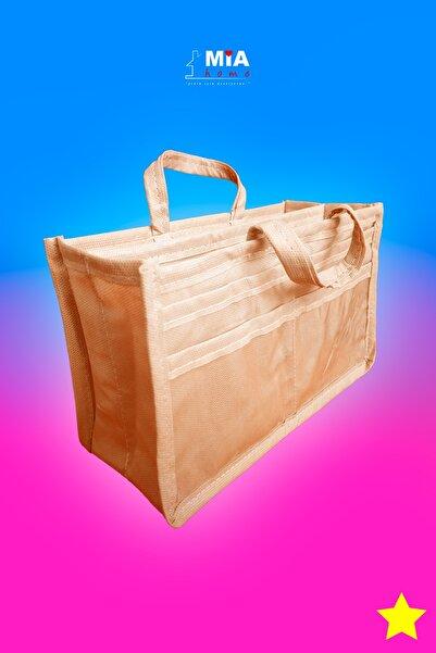 MİA Home Production Çok Amaçlı Çanta Içi Organizer - Makyaj Çantası / Düzenleyici / (bej)