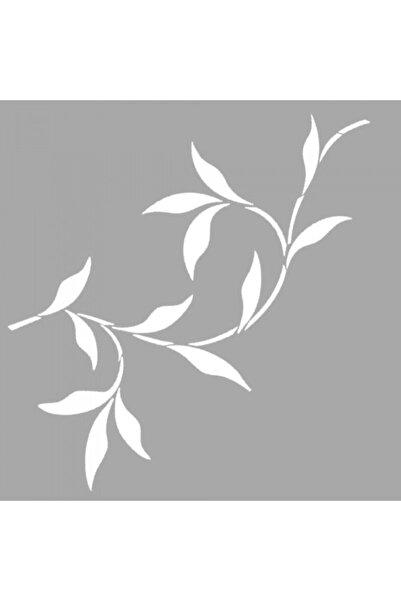 Artikel Sharona Çiçek Motif Stencil Tasarımı 30 X 30 Cm