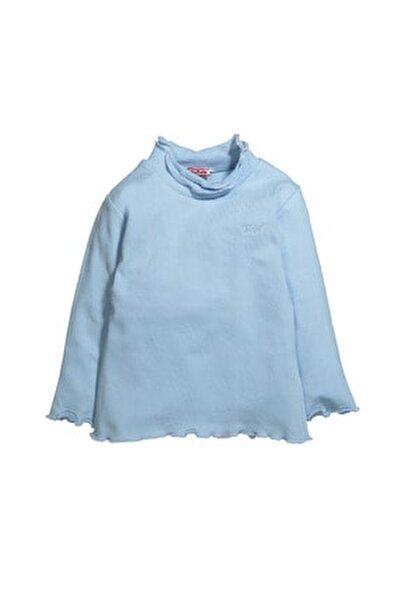 Balıkçı Yaka Fırfırlı Uzun Kollu T-shirt (6ay-12yaş)