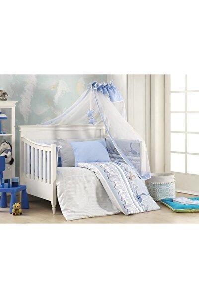 First Choice Happy Baby Mavi Bebek Uyku Seti Ginny Blue