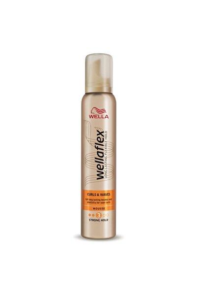 Wella Flex Bukle & Dalgalı Saç Köpüğü 200 ml