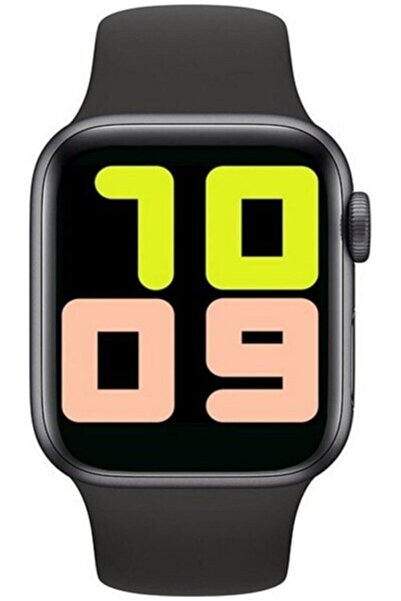 POLYGOLD T500 Unisex Siyah Led Smart Akıllı Saat