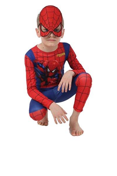 SPIDERMAN Örümcek Adam Maskeli Doğum Günü Parti Kostümü