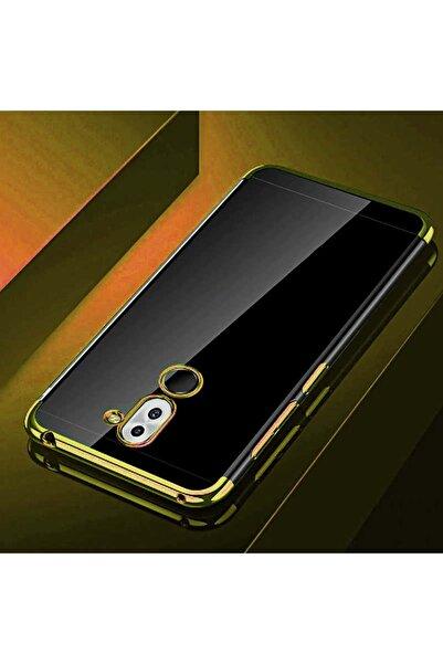 Huawei Mate 20 Lite Kılıf Şeffaf Esnek Silikon Lazer Boyalı