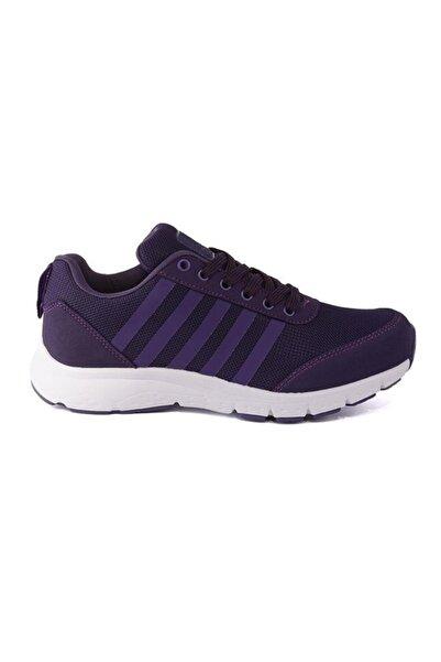 LETOON 6237 Mor Kadın Yürüyüş Günlük Spor Ayakkabı