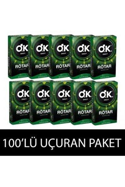 Okey Rötar 100 Lü (geciktiricili) 10x10 Kutu