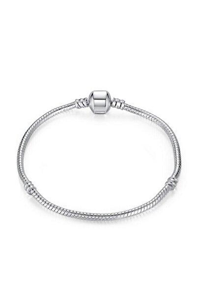 Chavin Pandora Tarzı Gümüş Kaplama Bileklik Ei24