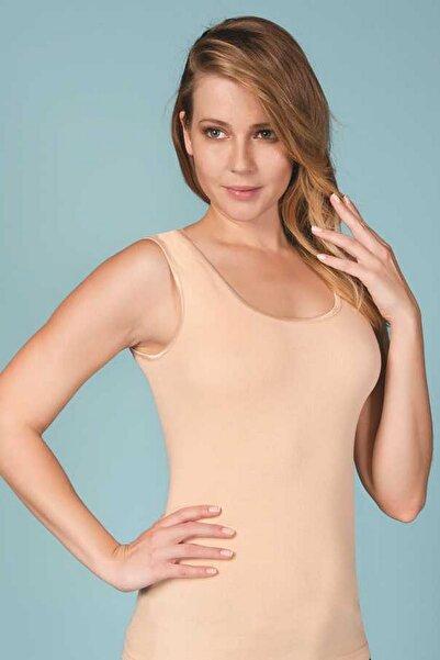 Berrak Kadın Ten Rengi 2'li Paket Geniş Askılı