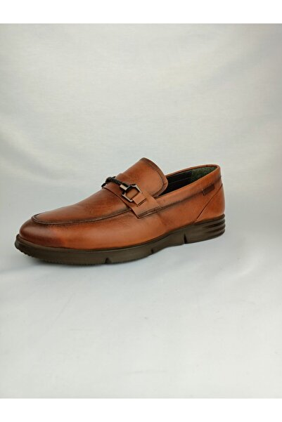 PUNTO Erkek Kahverengi Deri Ayakkabı