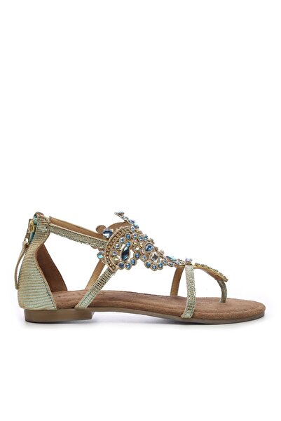 Amanie Amanı Kadın Derı Sandalet Sandalet 461 33627 BN SNDLT
