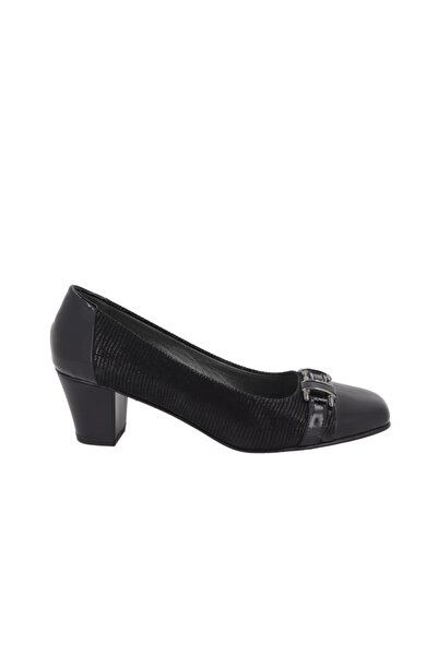 Hobby Kadın Siyah Topuklu Ayakkabı