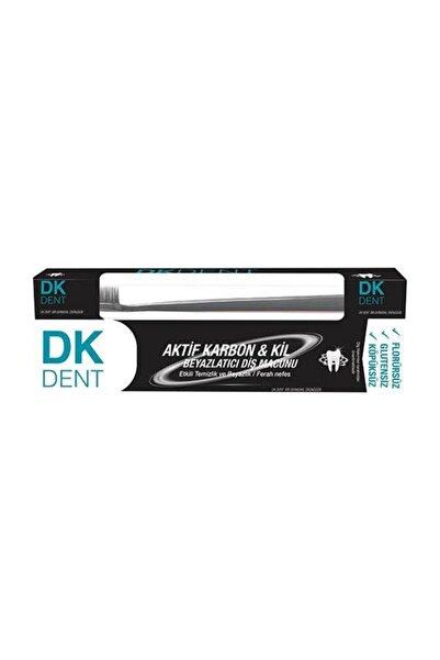 Dermokil Dk Dent Kil Ve Aktif Karbonlu 75 Ml.diş Macunu (diş Fırçası Hediyeli)
