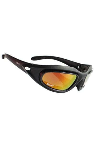 Daisy Usa Mılıtary C5 4 Lensli Polarize Taktikal Gözlük