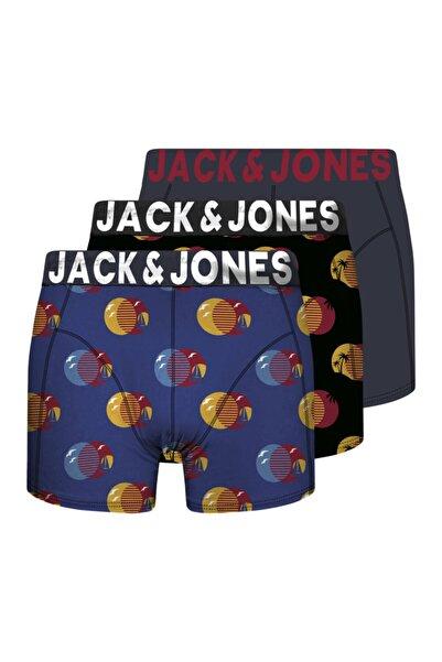 Jack & Jones 3'lü Boxer 12180982 Jacsmall