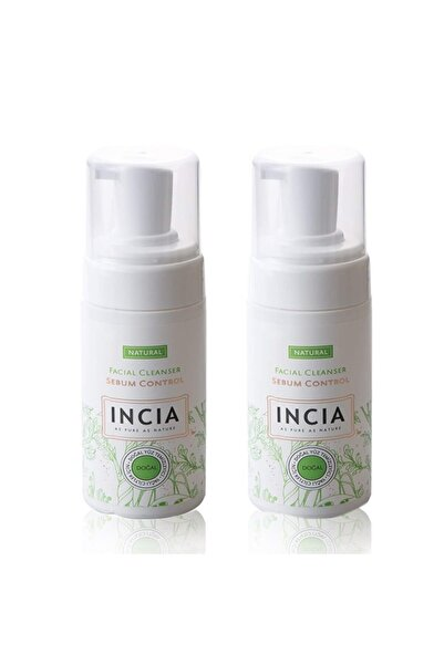 Incia Doğal Yağlı Yüzler Için Yüz Temizleme Köpüğü 2'li Paket