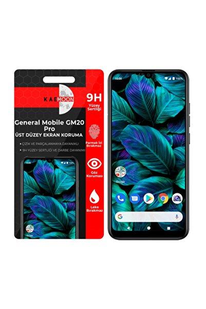 KaeMoon General Mobile Gm 20 Pro Ekran Koruyucu Hd Netlikte Temperli Ekran Koruyucu Cam (2 Paket)
